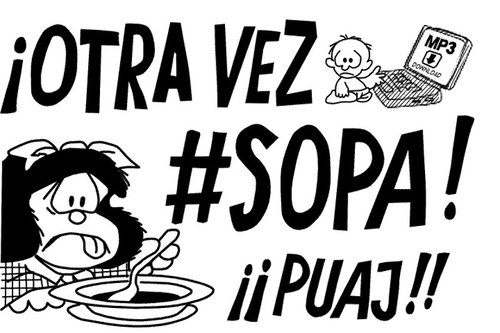 Mafalda: NO SOPA!!!
